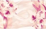 Fotobehang Vlies | Bloemen, Modern | Paars | 254x184cm