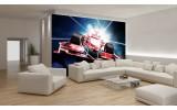 Fotobehang Papier Formule 1 | Rood | 254x184cm