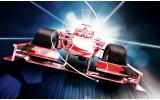 Fotobehang Vlies | Formule 1 | Rood | 254x184cm
